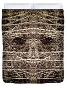 Tree Mask Duvet Cover by Wim Lanclus