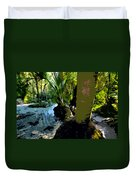 Tropical Spring Duvet Cover by David Lee Thompson