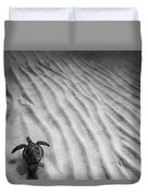 Turtle Ridge Duvet Cover by Sean Davey
