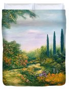Tuscany Atmosphere Duvet Cover by Hannibal Mane