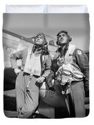 Tuskegee Airmen Duvet Cover by War Is Hell Store