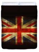 Uk Flag Duvet Cover by Brett Pfister