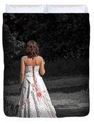 Ukrainian Bride Duvet Cover by Evelina Kremsdorf