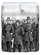 Union Generals Of The Civil War  Duvet Cover by War Is Hell Store
