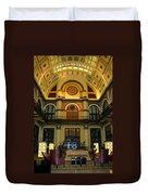 Union Station Lobby Duvet Cover by Kristin Elmquist