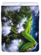 Unveiled Duvet Cover by Jerry LoFaro