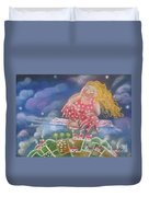 Up And Away Duvet Cover by Caroline Peacock