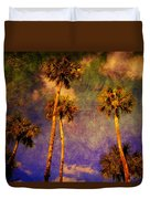 Up Up To The Sky Duvet Cover by Susanne Van Hulst