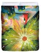 Urban Sunburst Duvet Cover by Andrew Gillette