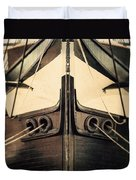 Uss Constellation Duvet Cover by Lisa Russo