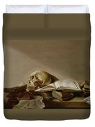 Vanitas Duvet Cover by Jan Davidsz de Heem