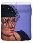 Veiled Duvet Cover by James W Johnson