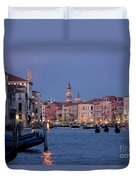 Venice Blue Hour 2 Duvet Cover by Heiko Koehrer-Wagner