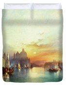 Venice Duvet Cover by Thomas Moran
