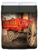Victorian Cart Duvet Cover by Adrian Evans