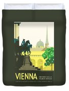 Vienna Duvet Cover by Georgia Fowler