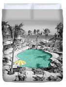 Vintage Miami Duvet Cover by Andrew Fare