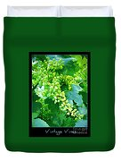 Vintage Vines  Duvet Cover by Carol Groenen