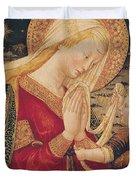 Virgin and Child  Duvet Cover by Neri di Bicci