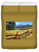 Wagon West Duvet Cover by Marty Koch