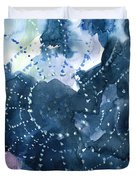 Waiting for a catch Duvet Cover by Anil Nene