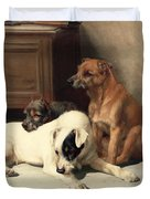 Waiting For Master Duvet Cover by William Henry Hamilton Trood