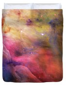 Warmth - Orion Nebula Duvet Cover by The  Vault - Jennifer Rondinelli Reilly