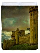 Warwick Castle Duvet Cover by Chris Lord