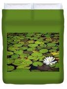 Water Lily Duvet Cover by Elisabeth Van Eyken