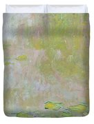 Waterlilies at Giverny Duvet Cover by Claude Monet
