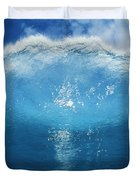 Wave Tube Duvet Cover by Ali ONeal - Printscapes