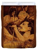 We Will Rock You Duvet Cover by Igor Postash