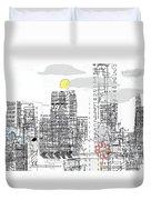 White City Duvet Cover by Andy  Mercer