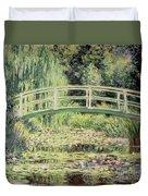 White Nenuphars Duvet Cover by Claude Monet