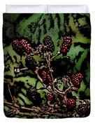 Wild Berries Duvet Cover by David Lane