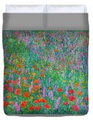 Wildflower Current Duvet Cover by Kendall Kessler