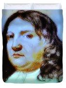 William Penn Portrait Duvet Cover by Bill Cannon