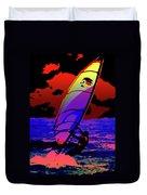 Windsurfer Duvet Cover by Brian Roscorla