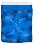 Wine Glass Duvet Cover by Tim Allen