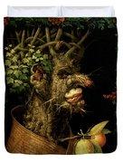 Winter Duvet Cover by Giuseppe Arcimboldo