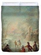 Winter Duvet Cover by Jacques de Lajoue