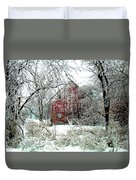 Winter Wonderland Duvet Cover by Julie Hamilton