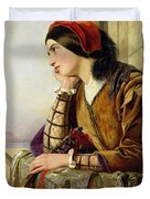 Woman in Love Duvet Cover by Henry Nelson O Neil