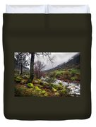 Woods Landscape Duvet Cover by Carlos Caetano