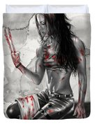 X23 Duvet Cover by Pete Tapang