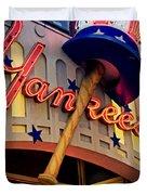 Yankee Clubhouse Duvet Cover by Joann Vitali