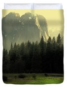 Yosemite Village Golden Duvet Cover by Wingsdomain Art and Photography