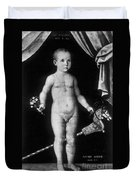 Young Felix Plater, Swiss Physician Duvet Cover by Science Source