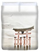 Zen Duvet Cover by Photodream Art