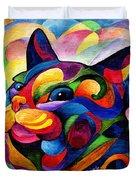 Zen Ziggy Duvet Cover by Sherry Shipley